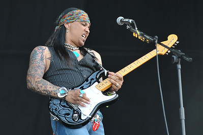 Micki Free performs at Hard Rock Calling 2010 - 26/06/10