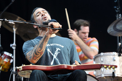 Ben Harper performs at Hard Rock Calling 2010 - 25/06/10