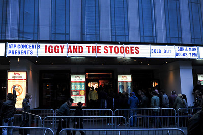 Iggy & The Stooges perform at HMV Hammersmith Apollo - 02/05/10