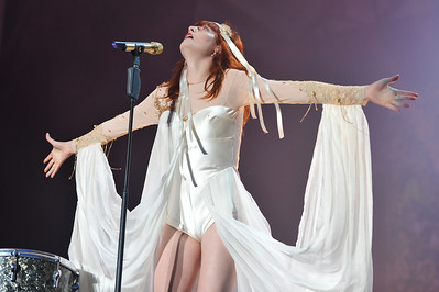 Florence & The Machine perform at Latitude 2010 - 16/07/10