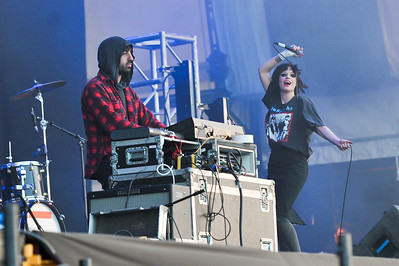 Crystal Castles perform at Latitude Festival 2010 - 17/07/10