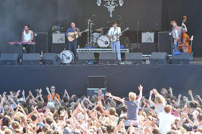 Mumford @ Sons perform at Latitude Festival 2010 - 18/07/10