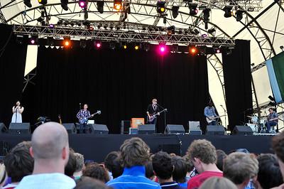Sweet Billy Pilgrim perform at Latitude Festival 2010 - 18/07/10