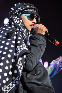 M.I.A. performs at Brixton Academy - 10/11/10