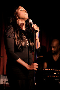 Mica Paris performs at Pizza on the Park, Knightsbridge, London - 28/01/10