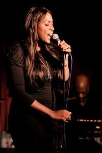 Mica Paris performs at Pizza on the Park, Knightsbridge, London - 28/01/10