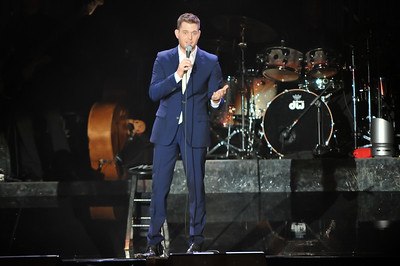 Michael Buble performs at Wembley Arena - 02/10/10