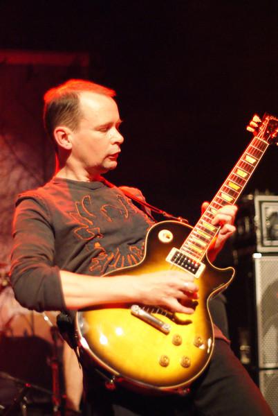 Pete Harwood of Morpheus Rising at Bury Met