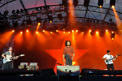 Rage Against The Machine perform at Finsbury Park, London - 06/06/10