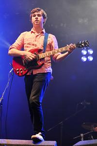 Surfer Blood perform at Reading Festival 2010 - 27/08/10