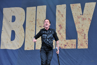 Billy Talent perform at Reading Festival 2010 - 27/08/10