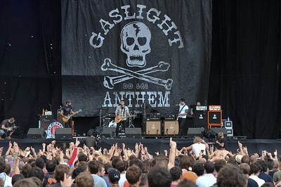 The Gaslight Anthem perform at Reading Festival 2010 - 28/08/10
