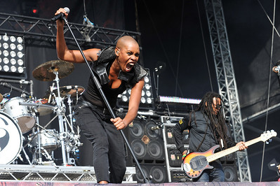 Skunk Anansie perform at Sonisphere Festival 2010 - 31/07/10