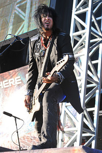 Motley Crue perform at Sonisphere Festival 2010 - 31/07/10