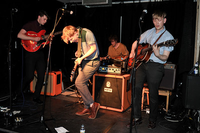 The Crookes perform at The Old Blue Last, London - 21/04/10