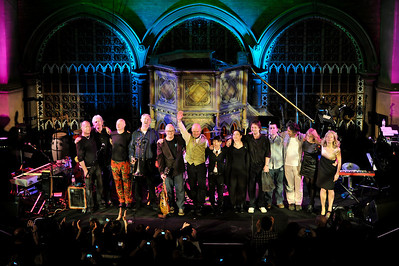 Thomas Dolby and Friends perform at Union Chapel - 28/02/10