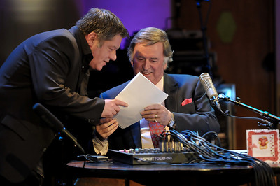 Terry Wogan presents Weekend Wogan at BBC Broadcasting House - 14/02/10