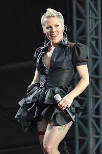Pink performs at