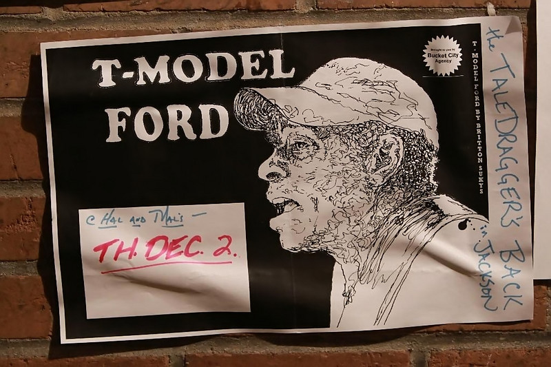 T-Model Ford at Hal and Mal's in Jackson, MS.