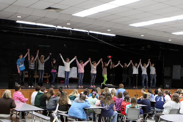"Middle School Choir - 3/13/2012 ""On My Own"" Musical"