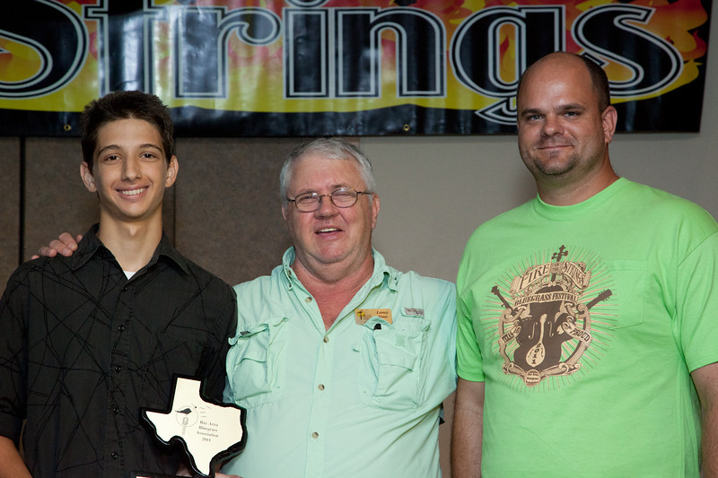 Banjo Competition<br /> Third Place<br /> Matthew Pratt<br /> Friendswood, Texas