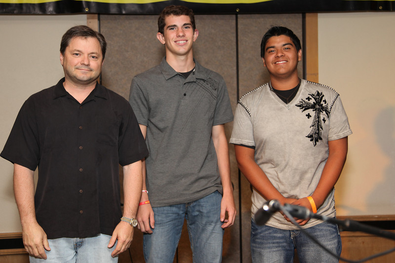 Guitar Competition<br /> Chris Bagley, Kyle Mikulan, Lucas White