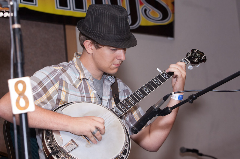 Banjo Competition<br /> First Place<br /> Adam Greer<br />  Burton, Texas