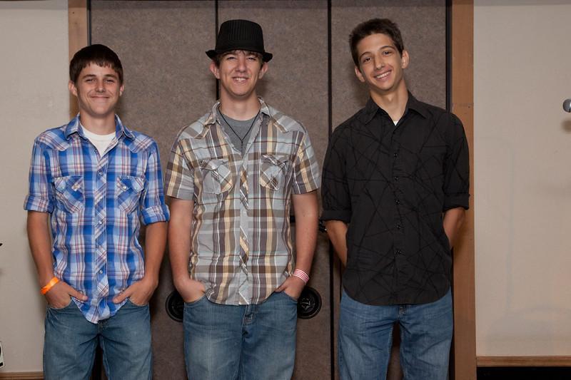 Banjo Competition<br /> Bryan Hollifield, Adam Greer, Matthew Pratt