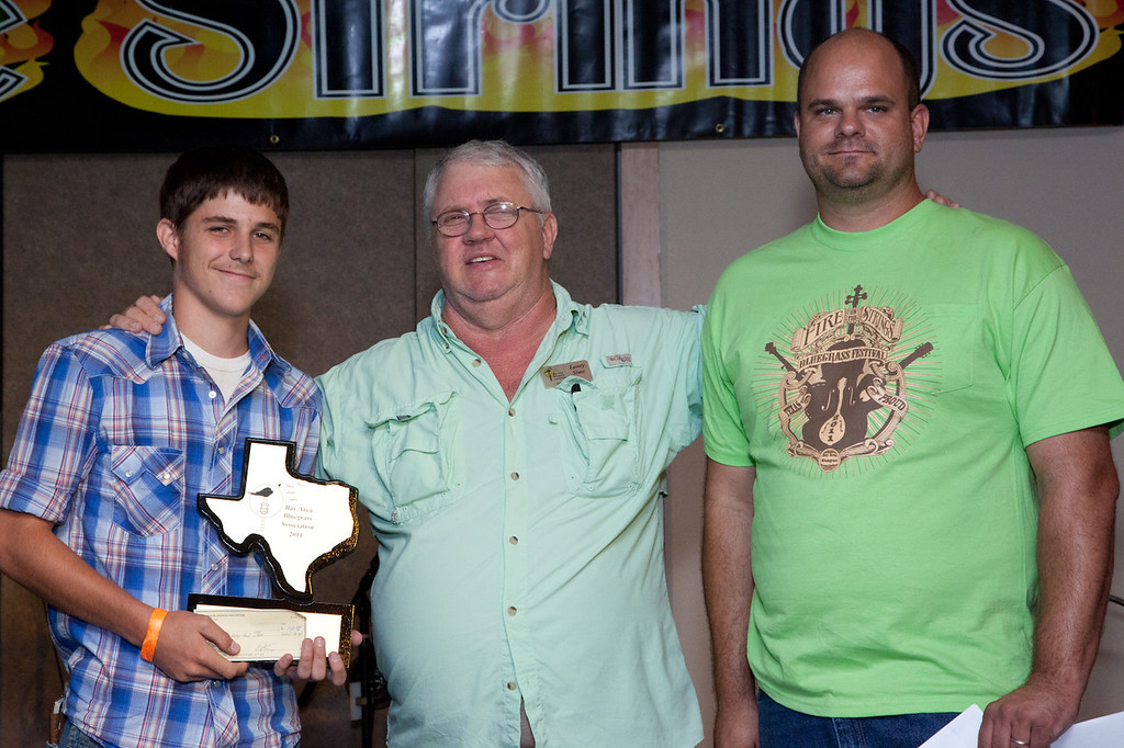 Banjo Competition<br /> Second Place<br />  Bryan Hollifield<br /> Chandler, Texas