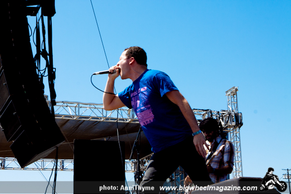 Touche Amore at 2011 FYF Fest - at LA Historic State Park - Los Angeles, CA - September 3, 2011