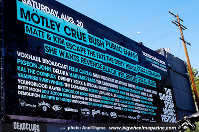 2011 Sunset Strip Music Festival - Motley Crue - Public Enemy - Bush - plus guests - West Hollywood, CA - August 18 - 20, 2011