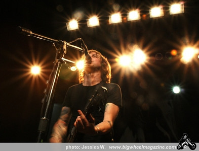 Against Me! - Cheap Girls - Fences - Fake Problems - at The Music Box - Hollywood, CA - January 30, 2011