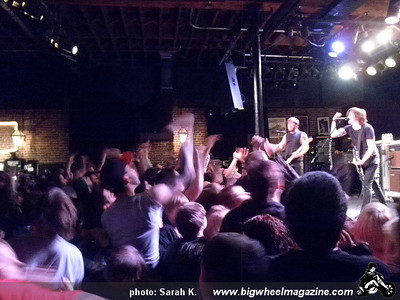 Against Me - Cheap Girls - Fences - at Slim's - San Francisco, CA - February 1, 2011