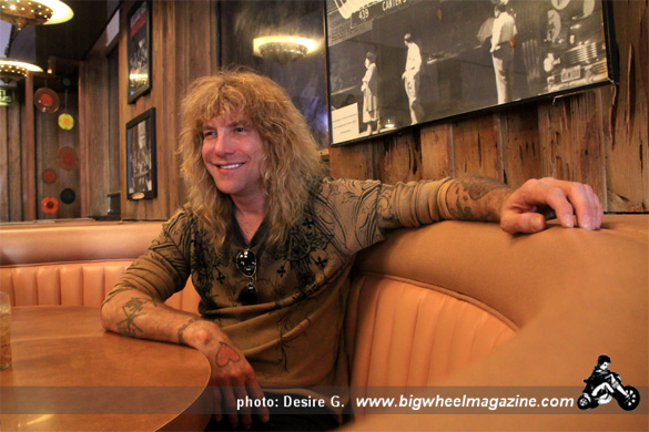 Interview with Steven Adler