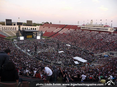 L.A. Rising Festival Featuring Rage Against The Machine, Muse, Rise Against, plus guests - at the Los Angeles Coliseum - Los Angeles,CA - July 30, 2011