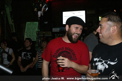 Northeast Records night with: Destruction Made Simple - Wonker - Booze Hounds - Informal Society - at Old Towne Pub - Pasadena, CA - April 15, 2011