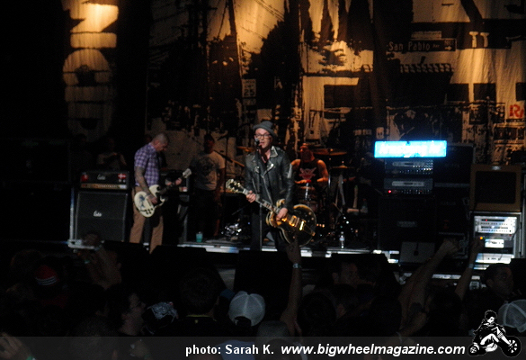 Rancid - H2O - at The Warfield - San Francisco, CA - September 10, 2011