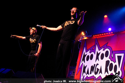 The Aquabats - Voo Doo Glow Skulls - Koo Koo Kangaroo - at The Music Box - Los Angeles, CA - February 11, 2011