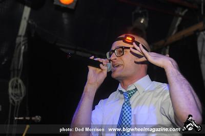Mc Frontalot - at The Tunnels - Aberdeen, UK - September 26, 2011