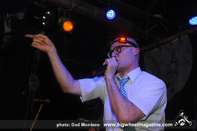 Mc Frontalot - at The Tunnels - Aberdeen, UK - September 26, 2011
