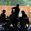 "Brian Wicklund, center, teaches a fiddle class in the shade.<br /> Over 300 students are learning from the bluegrass masters during the 2011 Rocky Grass Academy in Lyons this week.<br /> For more photos and a video of the academy, go to  <a href=""http://www.dailycamera.com"">http://www.dailycamera.com</a>.<br /> Cliff Grassmick / July 26, 2011"