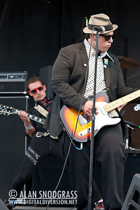 Johnny Madcap & The Distractions performs on May 29, 2011 at Punk Rock Bowling in Las Vegas, Nevada