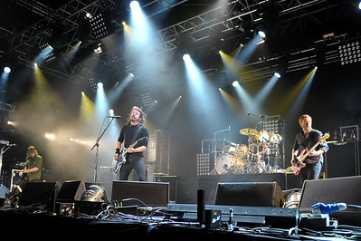 Foo Fighters perform at BBC Radio 1's Big Weekend 2011 - 14/05/11