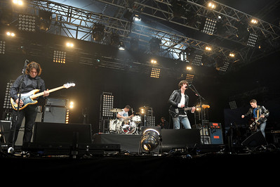 Arctic Monkeys perform at BBC Big Weekend 2011 - 14/05/11