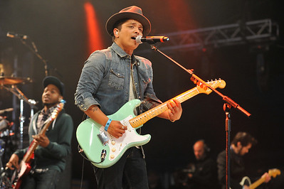 Bruno Mars performs at BBC Radio 1's Big Weekend 2011 - 15/05/11