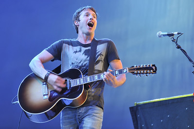 James Blunt performs at BBC Radio 2 Live, Hyde Park - 11/09/11