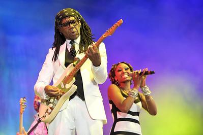 Chic perform at BBC Radio 2 Live, Hyde Park - 11/09/11