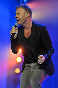 Gary Barlow performs at BBC Radio 2 Live, Hyde Park - 11/09/11