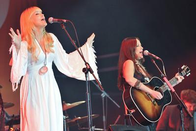 The Pierces perform at BBC Radio 2 Live, Hyde Park - 11/09/11