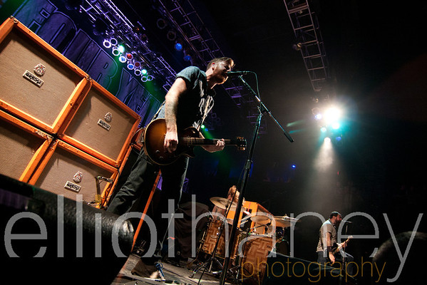 Four Year Strong and Orange Amps
